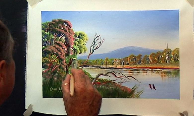 Free painting lessons free online videos of painting for Learn to paint with oils for free