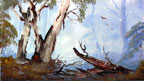 ghost gums painting